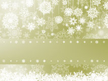 Elegant christmas background with snowflake. EPS 8 Stock Photography
