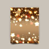 Elegant Christmas background with snowflakes Royalty Free Stock Photography