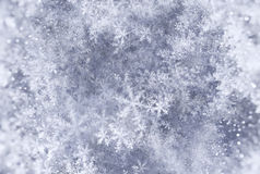 Elegant Christmas background with snowflakes fractal. Computer generated abstract background Stock Illustration