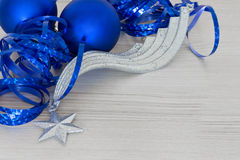 Elegant Christmas ball Background Stock Photos