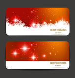 Elegant Christmas banners Royalty Free Stock Image
