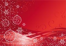 Elegant Christmas baubles Royalty Free Stock Photography