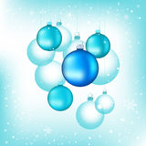 Elegant Christmas Baubles Royalty Free Stock Images
