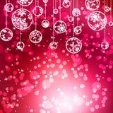 Elegant christmas with beautiful snowflakes. EPS 8 Royalty Free Stock Photos