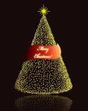 Elegant Christmas card Royalty Free Stock Image