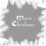 Elegant Christmas card. Vector Illustration Stock Photo
