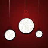 Elegant Christmas card background Stock Photography