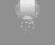 Elegant Christmas card background Royalty Free Stock Image