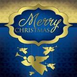 Elegant Christmas Card Stock Images