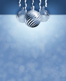 Elegant christmas decor. royalty free stock images