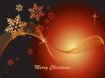 Elegant Christmas Design Stock Image