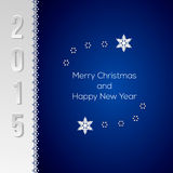 Elegant Christmas greeting card Stock Images