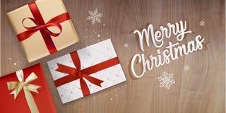 Elegant Christmas greeting card Royalty Free Stock Photography