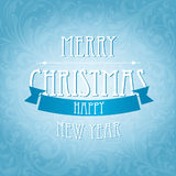 Elegant Christmas and happy new year background Royalty Free Stock Photo