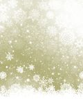 Elegant Christmas with snowflakes.  Royalty Free Stock Photo