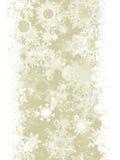 Elegant Christmas with snowflakes. EPS 8 Royalty Free Stock Photo