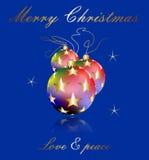 Elegant Christmas wishes Royalty Free Stock Photo