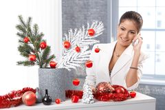 Elegant christmas Stock Images