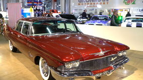 Elegant Chrysler Keizer 1960 stock video