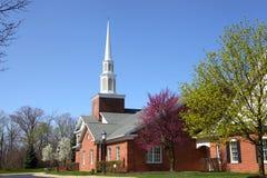 Elegant church building Royalty Free Stock Images