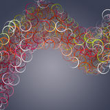 Elegant circle background design Stock Photo