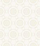 Elegant circular pattern in white Stock Photos