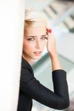 Elegant city woman Stock Photography