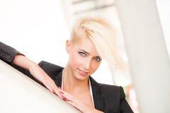 Elegant city woman Royalty Free Stock Images