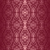 Elegant claret seamless wallpaper Royalty Free Stock Images