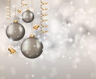 Elegant Classic Christmas Background Stock Images