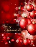 Elegant Classic Christmas Background Royalty Free Stock Images