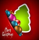 Elegant Classic Christmas flye Royalty Free Stock Images