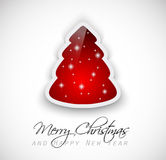 Elegant Classic Christmas Greetings Royalty Free Stock Images