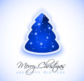 Elegant Classic Christmas Greetings Stock Photo
