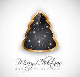 Elegant Classic Christmas Greetings Royalty Free Stock Image