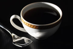 Elegant classic coffee cup Royalty Free Stock Photos