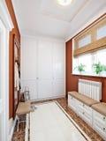 Elegant classic and luxurious hall interior design Stock Images