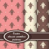 Elegant classic patterns Stock Photos