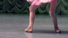 Elegant Classical Ballet on Stage stock video footage