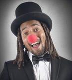 Elegant clown Royaltyfri Fotografi