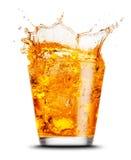 Elegant cocktailglas royalty-vrije stock fotografie