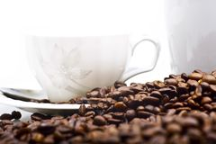 Elegant Coffee Cup Stock Images