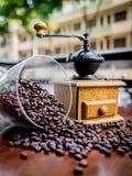 Elegant coffee grinder Royalty Free Stock Image