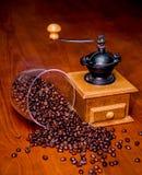 Elegant coffee grinder Stock Image