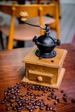 Elegant coffee grinder Stock Photography