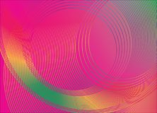 Abstract background design  made of circles. Elegant, colorful, modern abstract background design  made of overlapping circles. Vector illustration Royalty Free Stock Photography