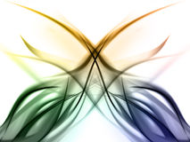 Elegant colorful rainbow Design Royalty Free Stock Images
