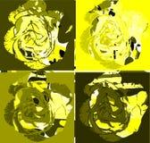 Elegant colorful Roses background Stock Image