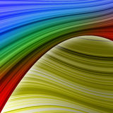 Elegant colorful swath abstract Stock Images