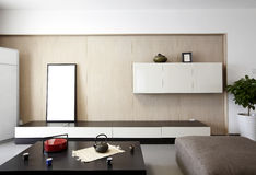 Elegant and comfortable home interior Royalty Free Stock Images